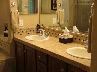 Double sinks in Master ensuite