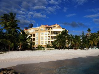St. Lawrence Gap condo photo - View from the sea to quiet Dover Beach