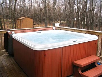 Albrightsville house rental - 7 Person Hot Tub