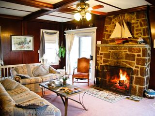 Annapolis cottage photo - Romantic Large Fireplace / Wood Provided