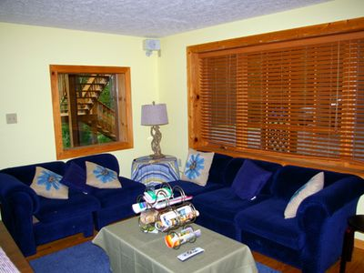 Berkeley Springs chalet rental - Den