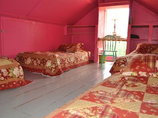 Bedroom 4, 4 twin beds . - Bar Harbor cottage vacation rental photo
