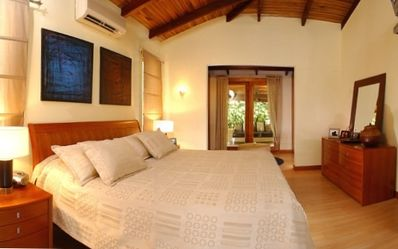Playa Langosta house rental - Master bedroom