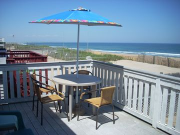 See the whole coastline from the private deck