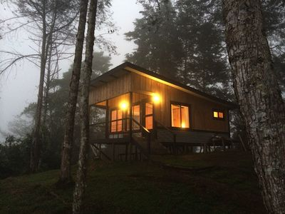 Beautiful Mountain Top Cabins Overlooking The Turrialba Volcano