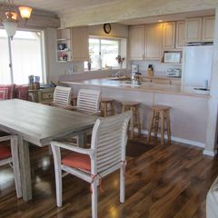 Ehukai Beach house photo - kitchen & table; seating area