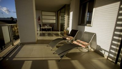 Apartment/ flat Peñíscola - WIFI -Very clean, bright, cheerful and again. By the sea. Condo with pool.