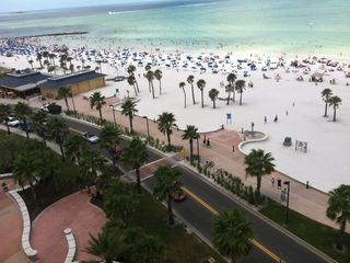 Clearwater Beach condo rental - Beach Across the Street from the Condo. 3 Minutes Walk