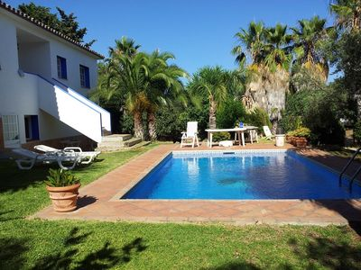 Apartment in Marbella with garden and pool near the beach and forest