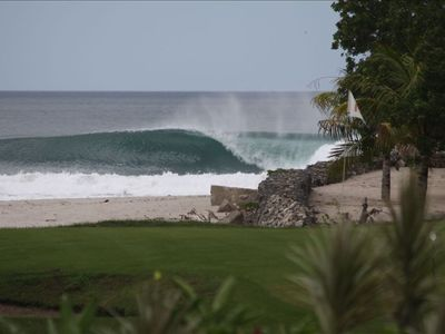 Truth in advertising -Rio Colorado (Colorados) surf shot from the couch!
