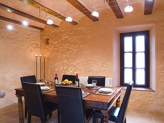 Cortes de la Frontera villa photo - Dining room. At present there's a bigger table with ten chairs