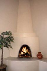 Santa Fe house photo - Authentic Kiva Fireplace - Santa Fe, NM