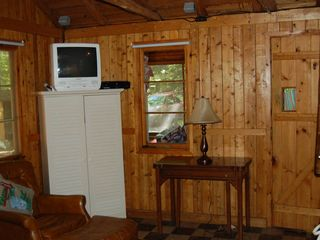 Pentwater cabin photo - Living area