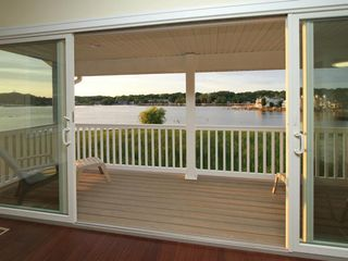 Saugatuck / Douglas condo photo - Main floor balcony view