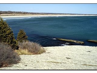 Newport house photo - View of Sachuest Beach from Purgatory Chasm