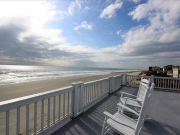 Folly Beach house rental - View from Roof Top Deck