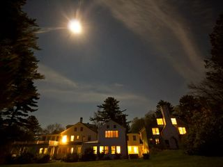 Northport estate photo - Full Moon over Saturday Cove Farm