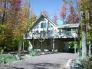 Breathtaking Scenery in Autumn and Winter - Poconos Pines / Lake Naomi chalet vacation rental photo