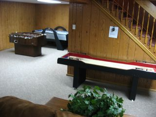 Seven Springs house photo - Family-gameroom (Foozball, Air hockey, Shuffle board, casino stand alone bar