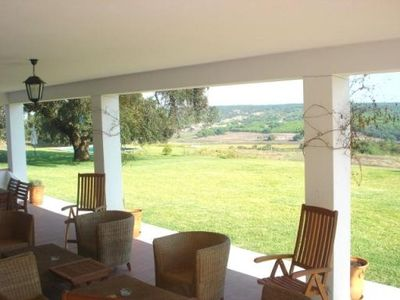 Comporta villa rental - Terrace view
