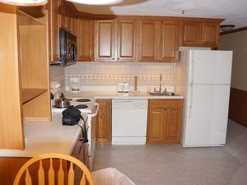 Snowshoe Mountain condo rental - Fully equipped kitchen