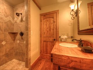 Big Sky house photo - Main level powder bath with shower