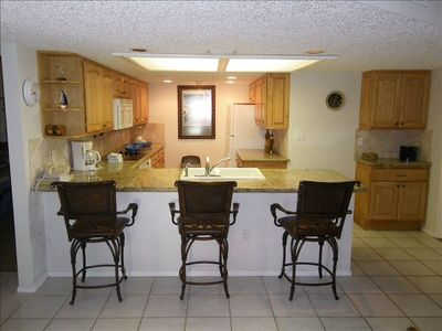 Renovated Kitchen with new Cabinet, Appliances & Granite counter tops