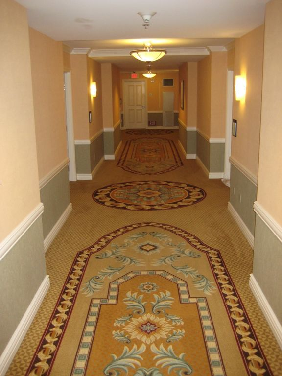 The Signature hallway