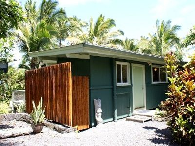 Pahoa cottage rental - Front of Tiki Hut