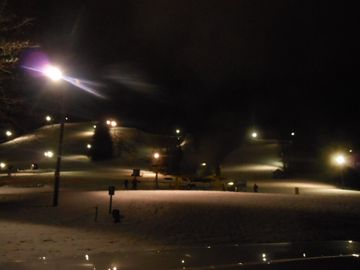 Night Skiing at Schuss Village