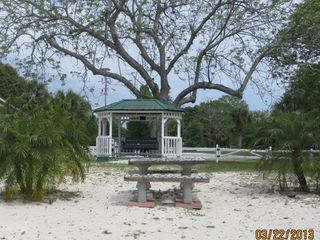 Tavares house photo - Gazebo at Common Area, private beach, at end of street.