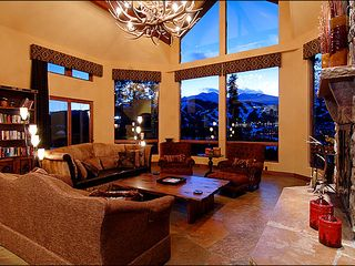 Breckenridge house photo - Great Room with Floor to Ceiling Windows