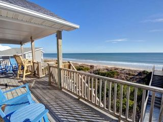Surf City house photo - Oceanfront Deck