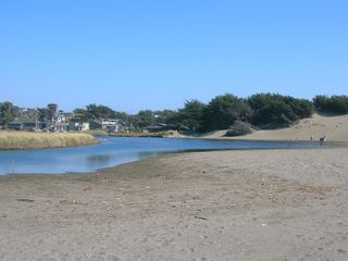 Bodega Bay cottage photo - or in the creek.