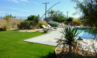 Palm Springs house photo - Pleasant blend of fun grass and native desert flora