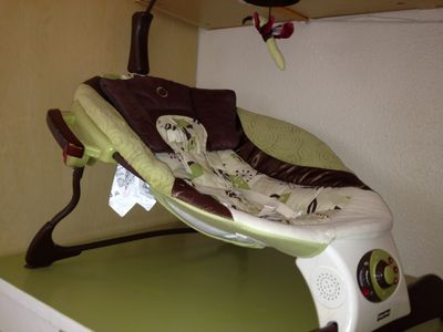 Baby items available upon request