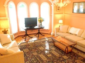 TV Room a Place to Kick Back, Unwind & Watch a DVD on the Flat Screen!