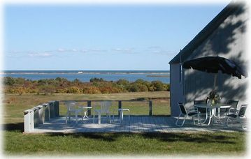 Oak Bluffs house rental - View from Front Deck
