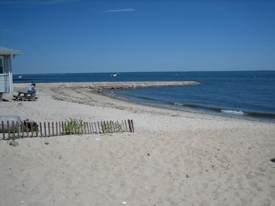 Beach view to East