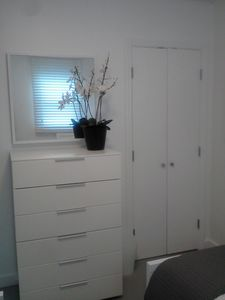 Guest Bedroom Dresser and closet