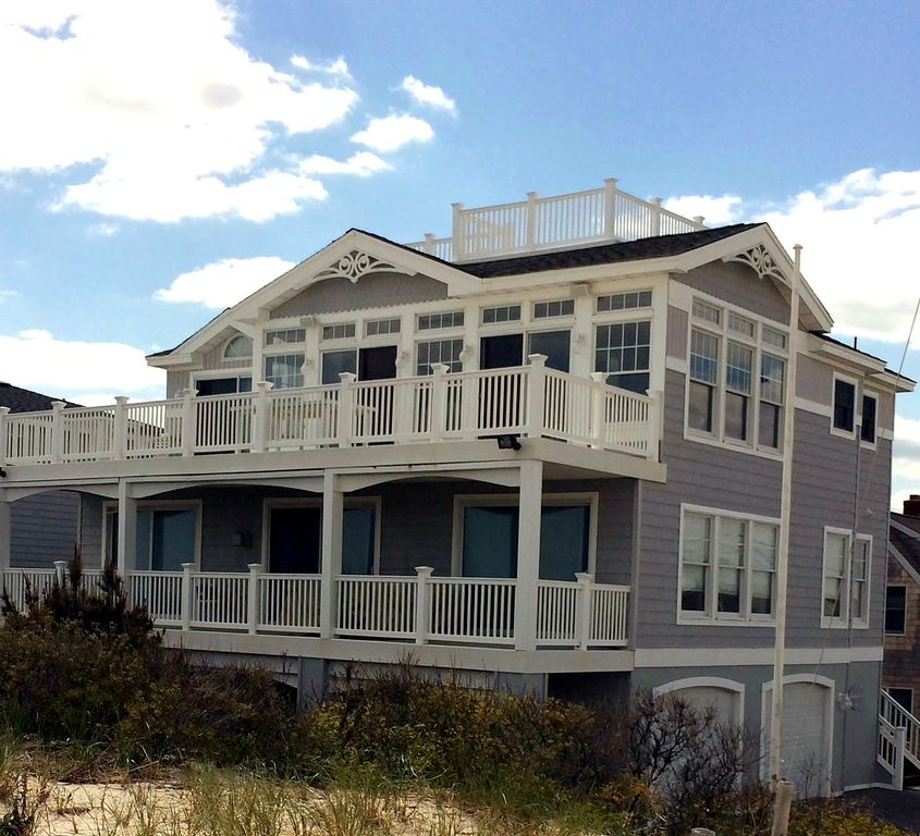 Luxury Oceanfront Long Beach Island Rental Vrbo
