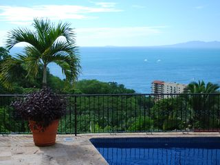 Ocean View from the patio!!! - Puerto Vallarta house vacation rental photo