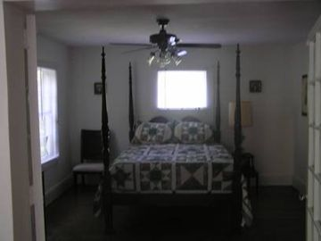 Trout Stream House master bedroom