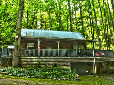 Cabin on a Creek - Where peace and quiet come together.
