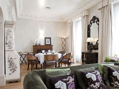 Madrid Center apartment rental - Furnished with antique and contemporary furniture