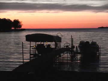Isle cabin rental - Private cabin with amazing swimming and sunsets on Mille Lacs in Isle, MN