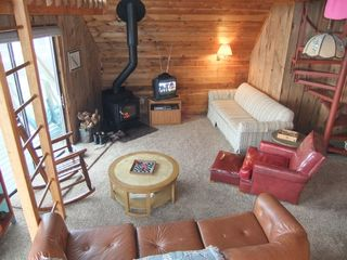 Claybank Township cottage photo - Living area overlooking lake