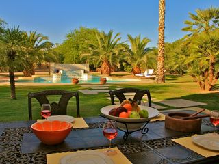 Scottsdale house photo - Outdoor dining area