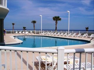Orange Beach condo photo - Indoor/Outdoor Beach Side Pool