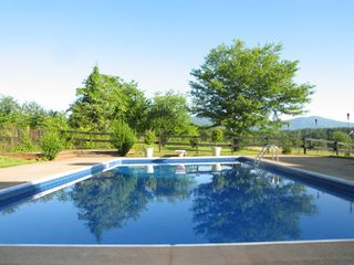 Charlottesville house photo - Private pool has spectacular mountain views